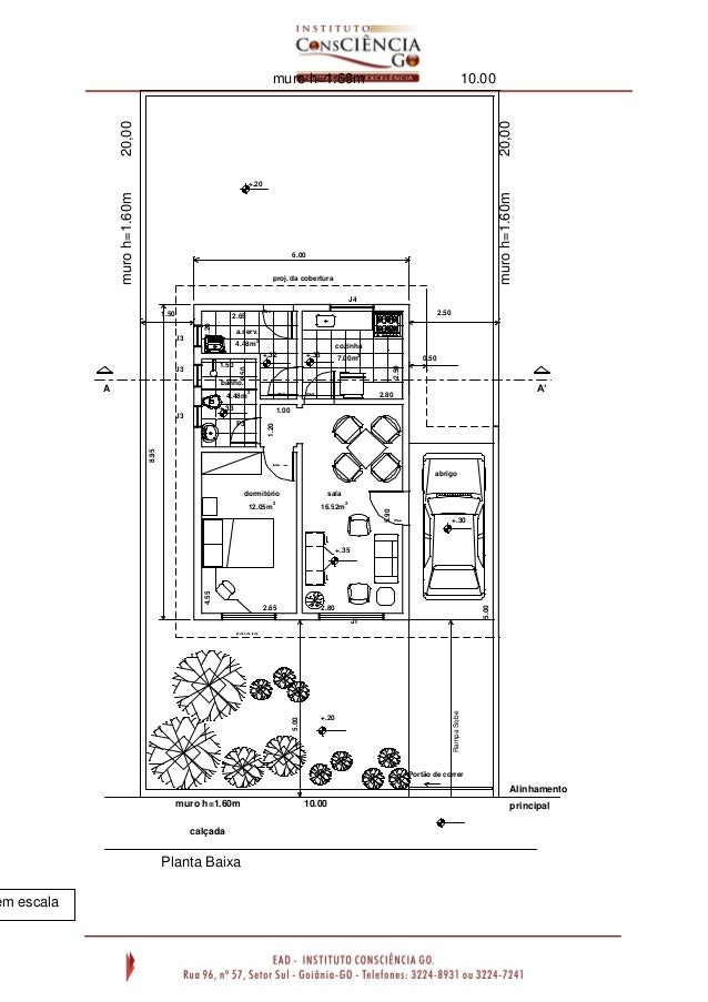 Muito Desenho arquitetônico NC53