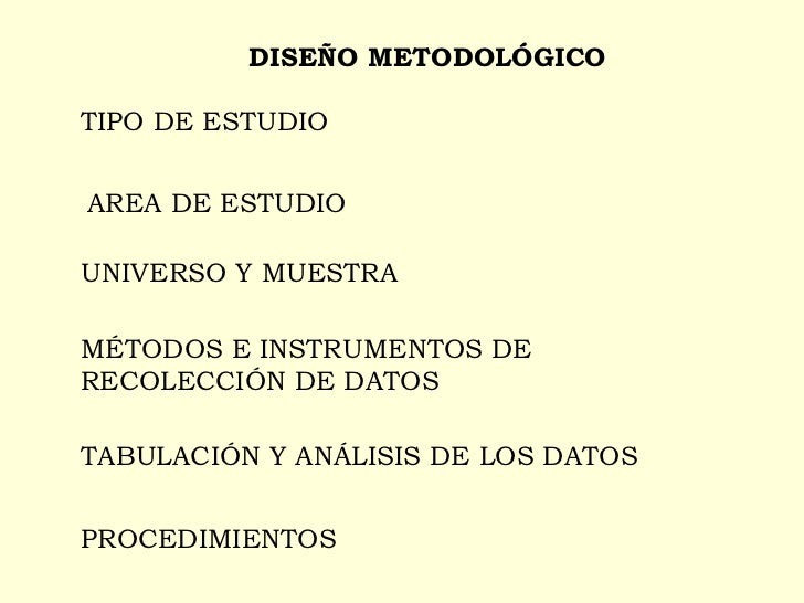 9 DiseñO MetodolóGico Slide 2