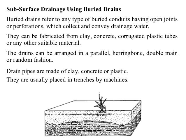Drainage Engineering (Drainage and design of drainage systems)