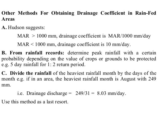 Drainage Engineering (Drainage and design of drainage systems) - 웹