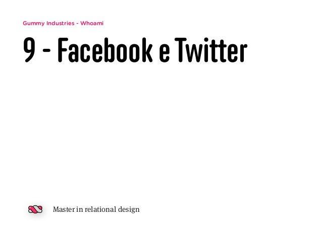 Gummy Industries - Whoami 9 - Facebook eTwitter Master in relational design