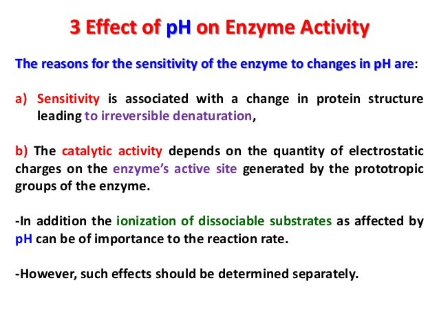 a lab experiment enzyme reaction in high temperature environment Optimum ph of a particular enzyme corresponds to the ph of its natural environment for many  high temperature  enzyme in each part of the experiment.