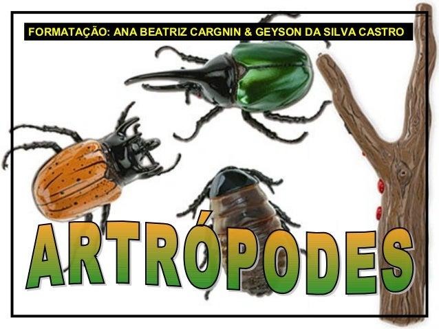 FORMATAÇÃO: ANA BEATRIZ CARGNIN & GEYSON DA SILVA CASTRO