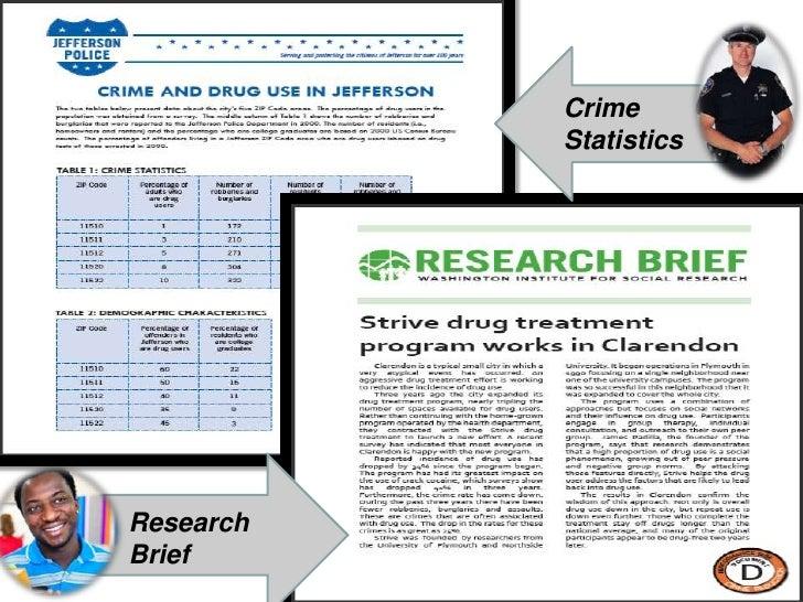 Crime Statistics<br />Research Brief<br />