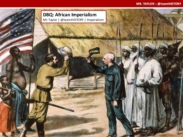 European imperialism in africa essay
