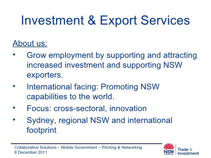 Investment & Export Services - Carolin Lenehan