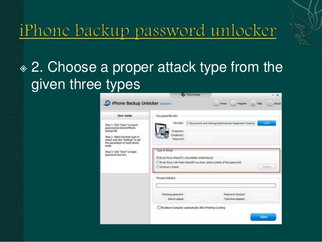 Tenorshare iphone backup password recovery crack | [OFFICIAL