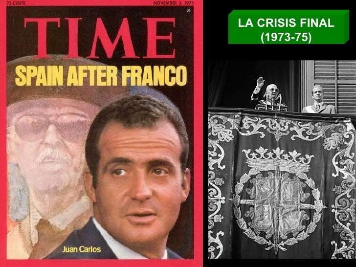 LA CRISIS FINAL (1973-75)