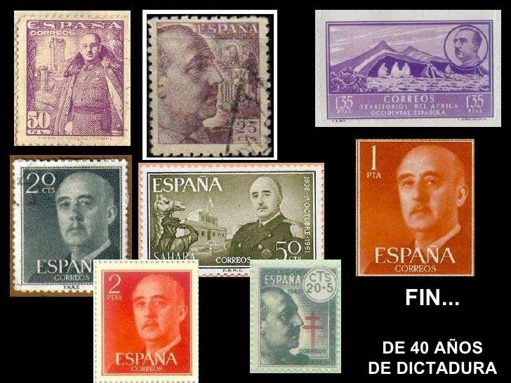 FIN... DE 40 AÑOS DE DICTADURA