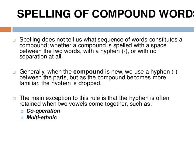 100+ Spelling Compound Words List – yasminroohi