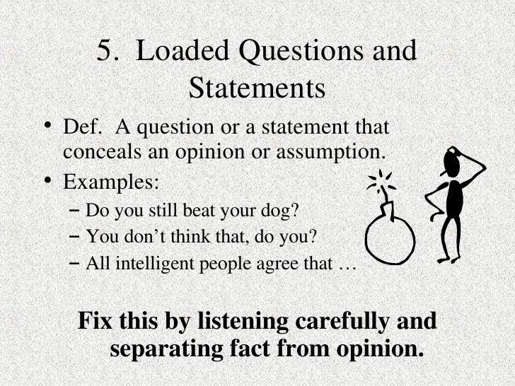 9 Logical Fallacies