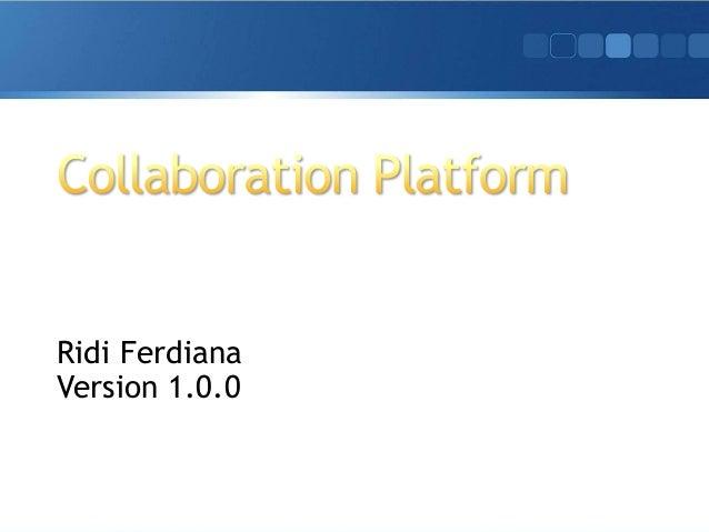 Ridi Ferdiana Version 1.0.0