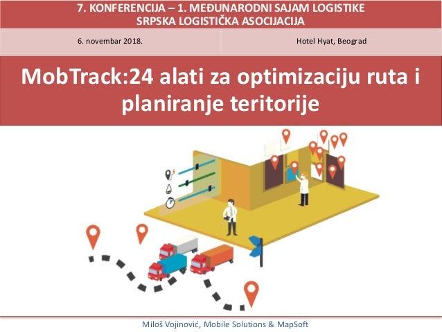 Mobtrack 24 Alati Za Optimizaciju Ruta I Dizajn Teritorije
