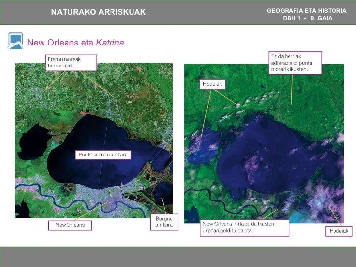 New Orleans eta  Katrina