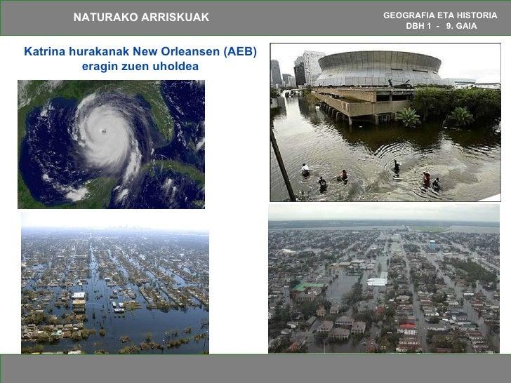 Katrina hurakanak New Orleansen (AEB) eragin zuen uholdea