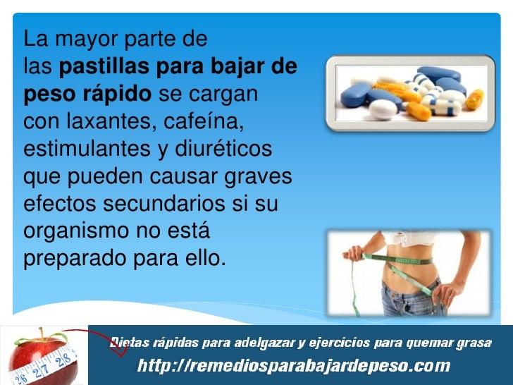 9. pastillas para bajar de peso rápido ppt