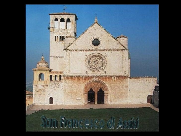 La chiesa di S.Francesco sorge oggi là dove il Santo aveva scelto di essere sepolto, nellazona di Assisi che nel medioevo ...