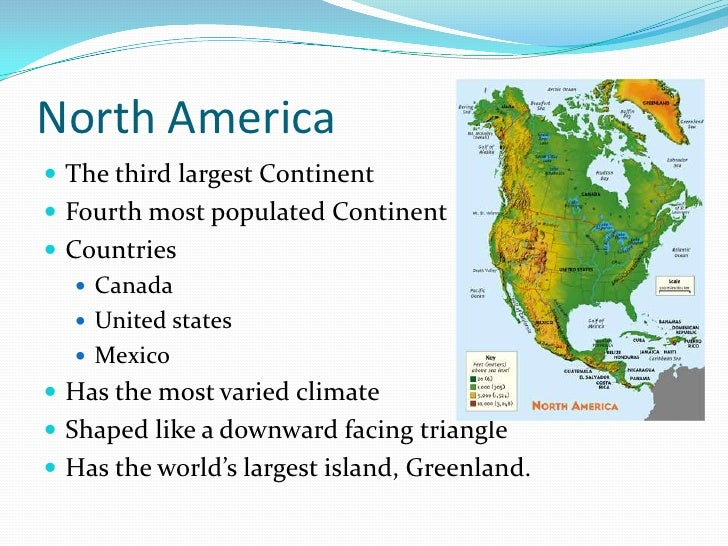 The Continents - What is the biggest continent