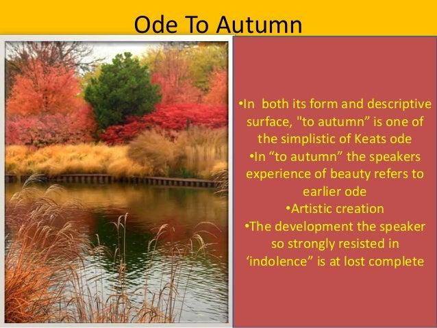 keats ode to autumn