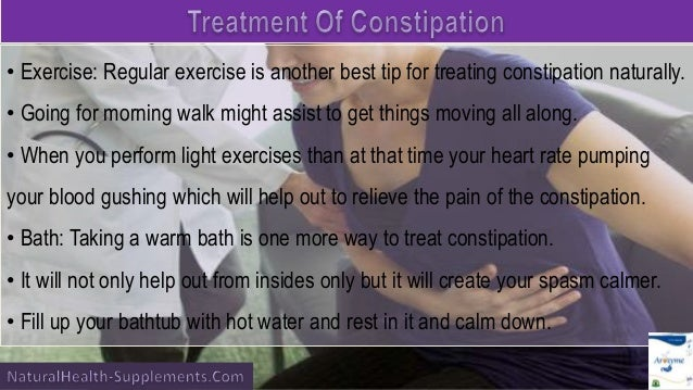 Best Way To Treat Constipation Naturally