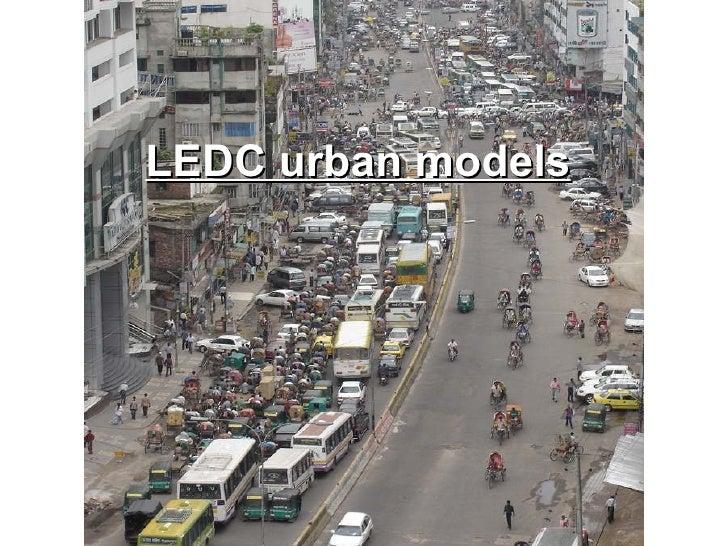 LEDC urban models