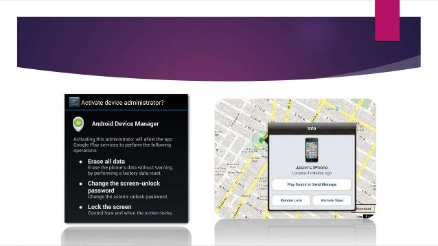  Lock Mobile Devices  When employees use a mobile device to access corporate data it's important to educate them about t...