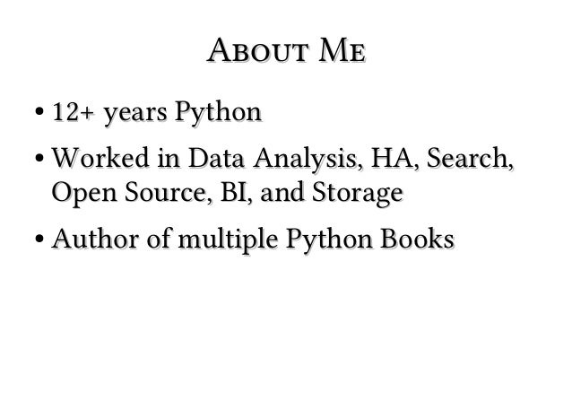 Learn 90% of Python in 90 Minutes Slide 2