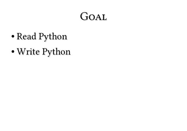 Learn 90% of Python in 90 Minutes Slide 3