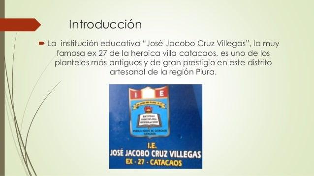 Institucion Educativa José Jacobo Cruz Villegas ex 27 Slide 2