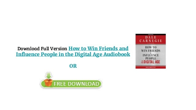how to win friends audio