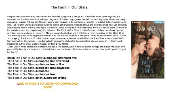 fault in our stars pdf book download
