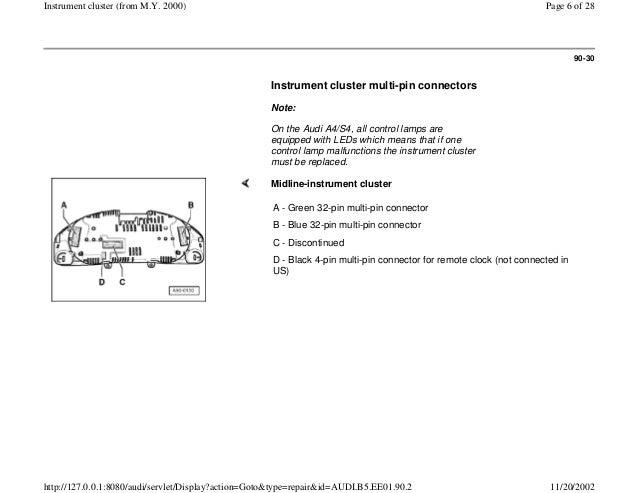 audi instrument cluster wiring diagram  u2022 wiring diagram