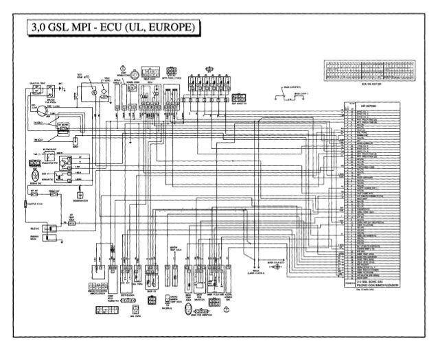 90 diagrama de Hyundai Galloper | Hyundai Galloper Wiring Diagram |  | SlideShare