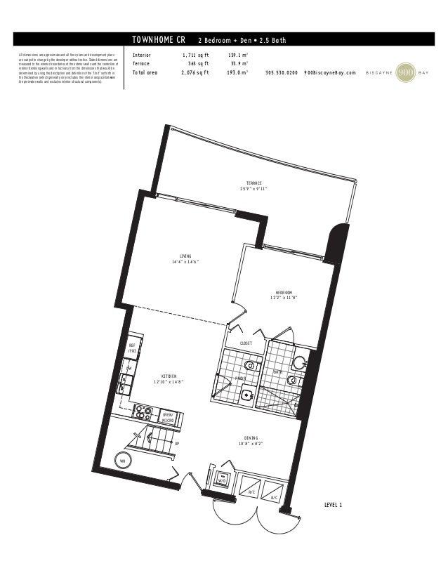 900 biscayne bay floor plans