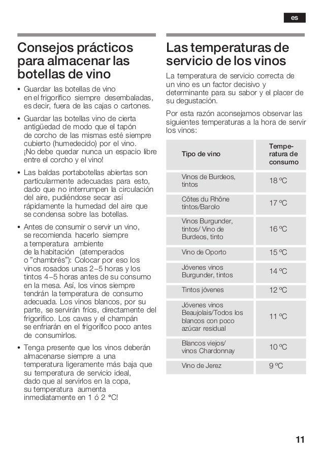 11 Consejos prácticos para almacenar las botellas de vino S Guardar las botellas de vino en el frigorífico siempre desemba...