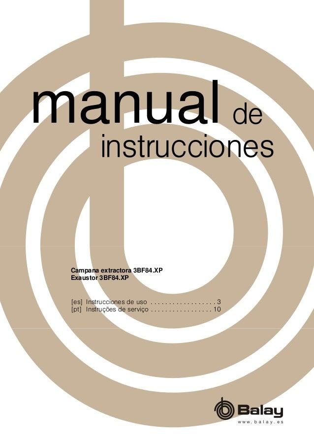 [es] Instrucciones de uso . . . . . . . . . . . . . . . . . . 3 [pt] Instruções de serviço . . . . . . . . . . . . . . . ....