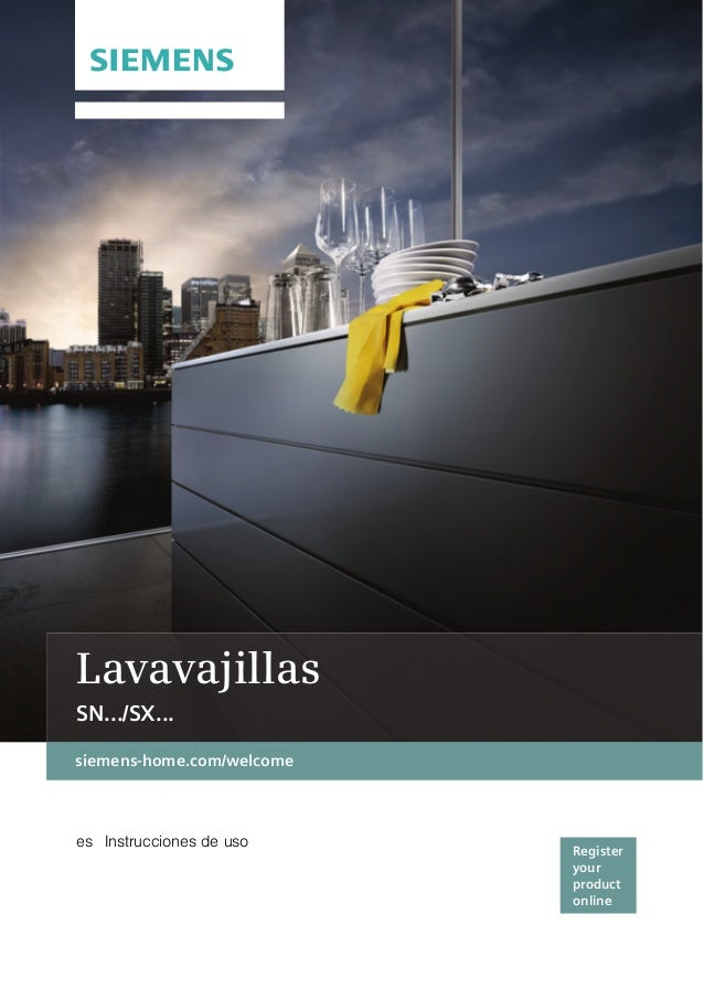 es Instrucciones de uso Lavavajillas SN.../SX...