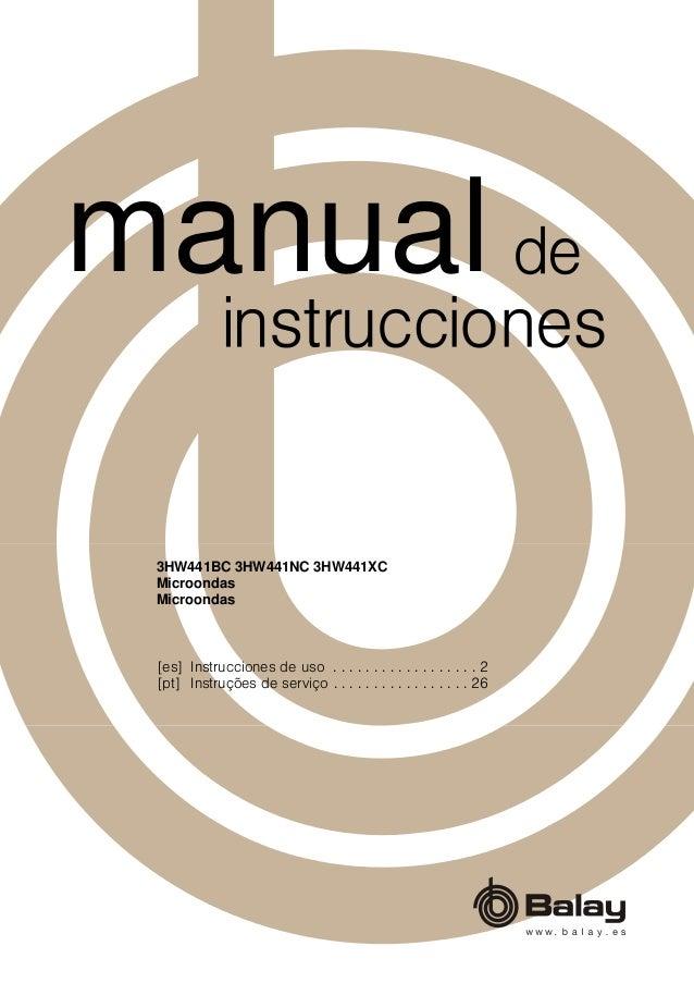 [es] Instrucciones de uso . . . . . . . . . . . . . . . . . . 2 [pt] Instruções de serviço . . . . . . . . . . . . . . . ....