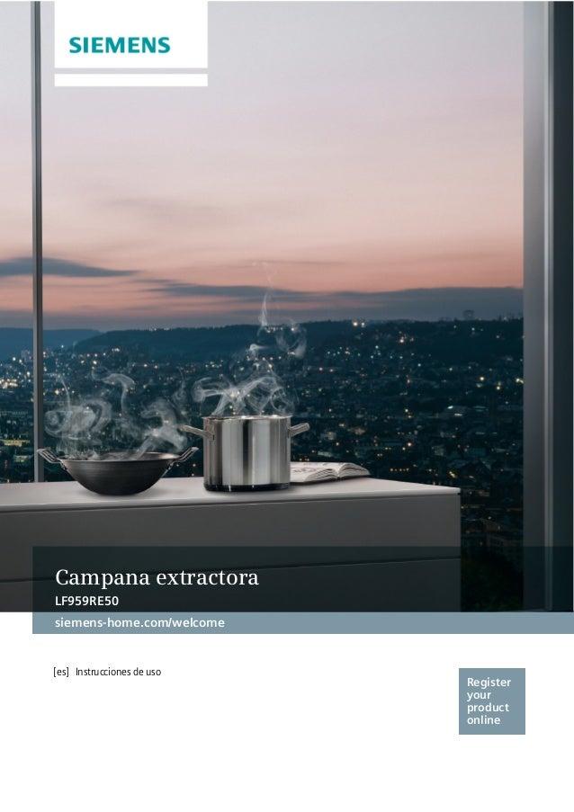 campana siemens lf959re50. Black Bedroom Furniture Sets. Home Design Ideas