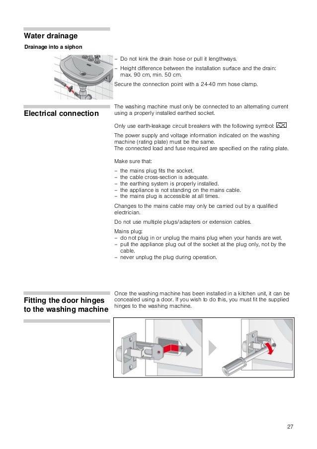 Lavadora Bosch Wia24201ee