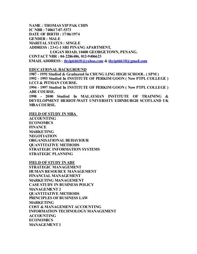 original resume expected salary 4th june 2015