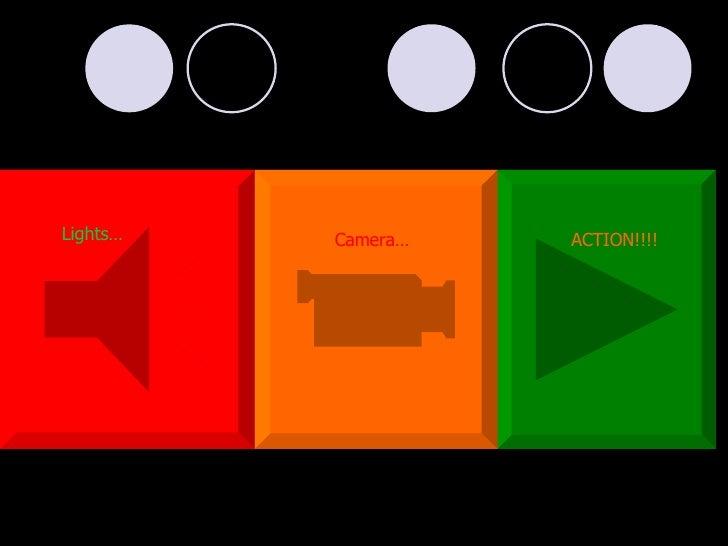 Lights… Camera… ACTION!!!!