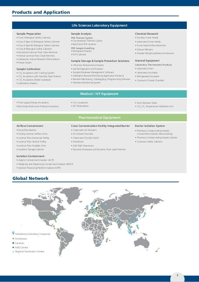 Esco Biological Safety Cabinet Catalog