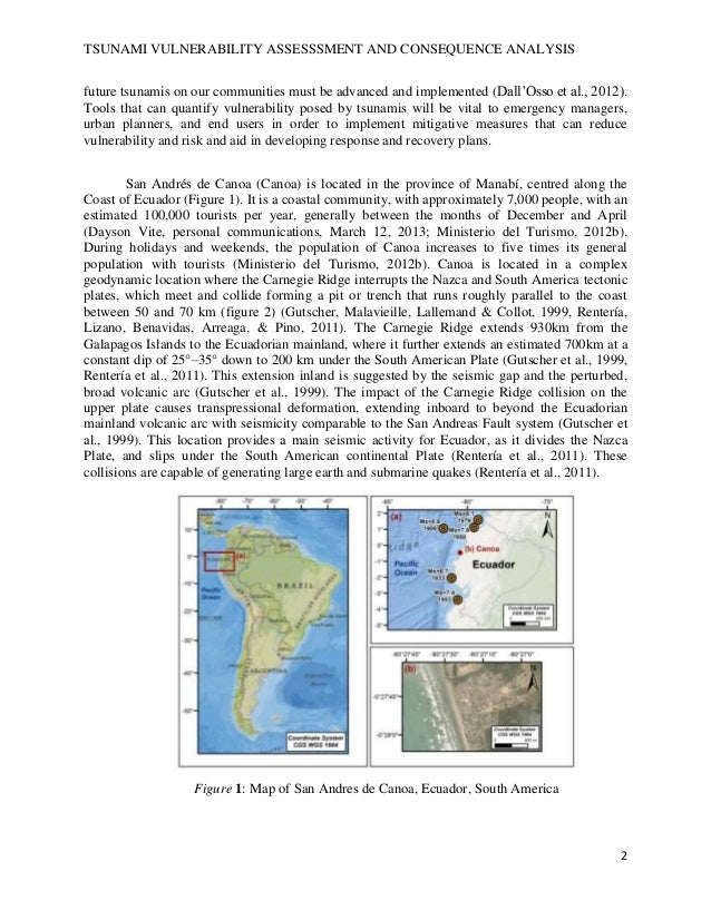 thesis tsunami risk assessment Mulyani, rini (2013) extended framework for earthquake and tsunami risk assessment: padang city a case study phd thesis, university of sheffield.