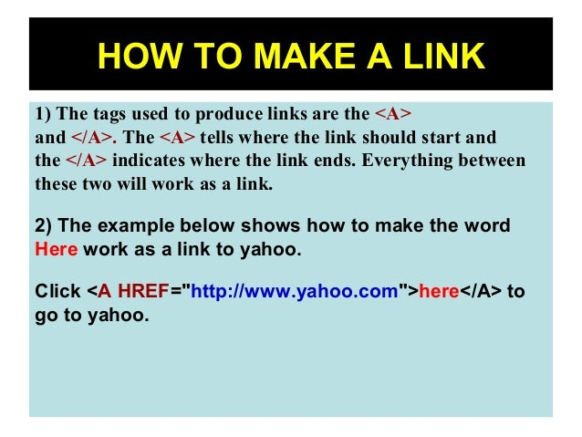 how to make image  link in html