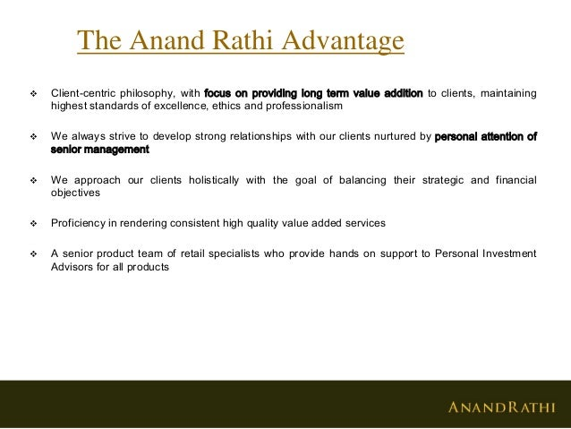 Anand Rathi Review and Brokerage Charges