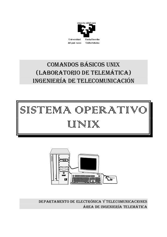 eman ta zabal zazu               Universidad     Euskal herriko              del país vasco   Unibertsitatea     COMANDOS ...