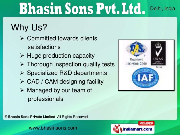 Delhi, India   Why Us?          Committed towards clients           satisfactions          Huge production capacity     ...