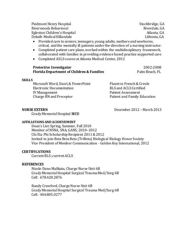 prn resume