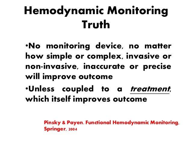 Haemodynamic monitoring-Minati
